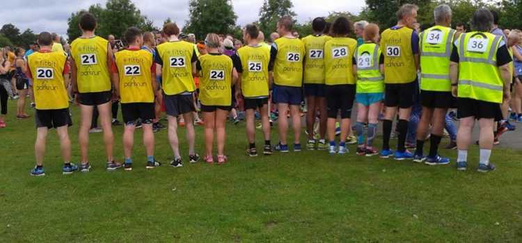 Rother Valley parkrun pacing event