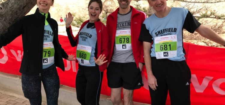 SRC at the Malta Marathon